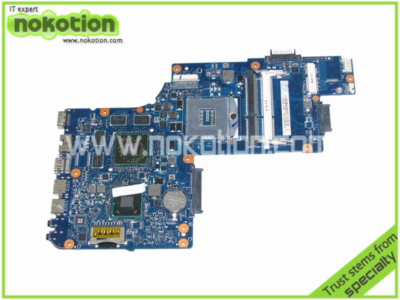 NOKOTION new H000050770 Laptop Motherboard for toshiba C850 15 inch HD4000+ATI HD Mainboard nokotion sps v000198120 for toshiba satellite a500 a505 motherboard intel gm45 ddr2 6050a2323101 mb a01