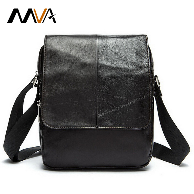 Aliexpress.com : Buy MVA Genuine Leather Men Bags Fashion Shoulder ...