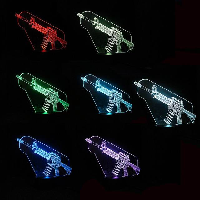 Call of Duty 3D Optical illusion LED Lamp – New 2017