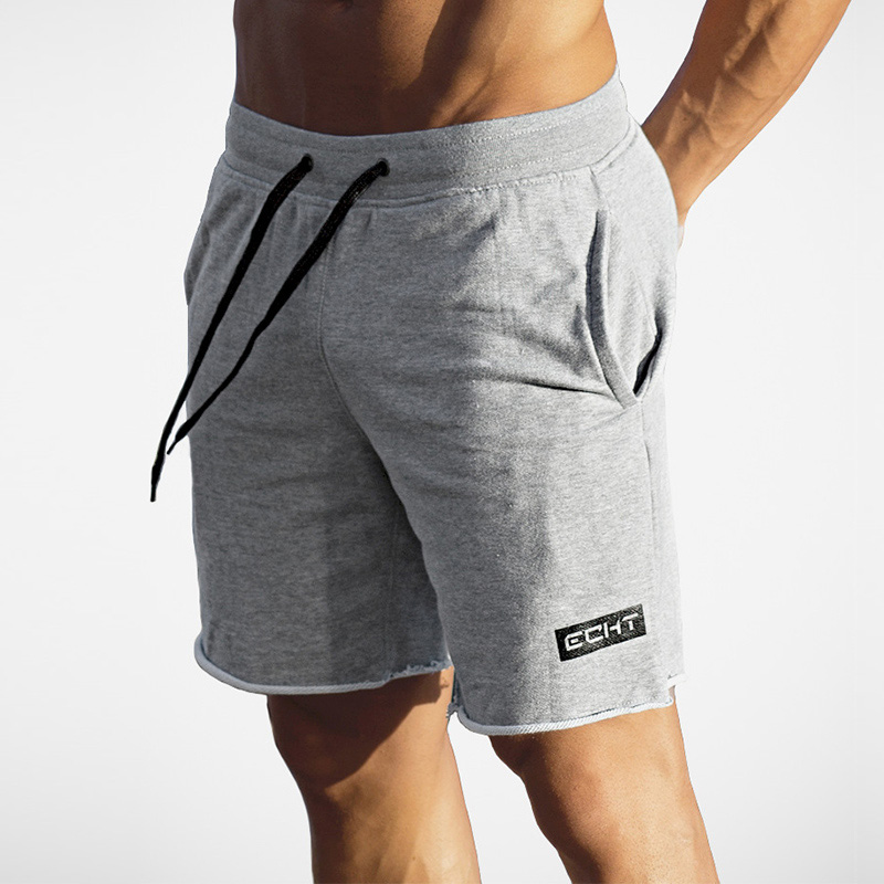 Summer Mens Shorts Calf-Length Fitness Bodybuilding Fashion Casual Gyms Joggers Workout Brand Short Pants Sweatpants