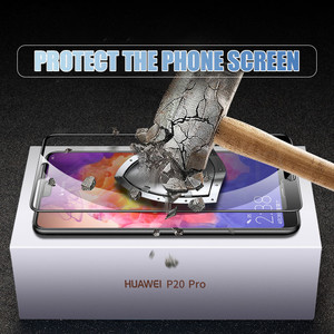 Image 4 - 9D Protective Glass on the For Huawei P20 Pro P10 P9 Lite Plus Huawei P Smart 2019 Tempered Screen Protector Glass Film Case