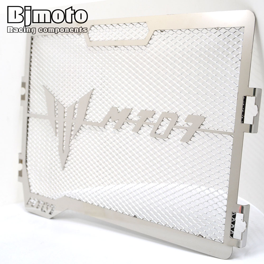 Motorcycle Engine Radiator Grille Guard Cover Protector Fuel Tank Cover Protector Net For Yamaha MT07 MT-07 2014 2015 2016 2017 gt motor motorcycle bike radiator grille grill cover protector guard for yamaha r3 2015 2016