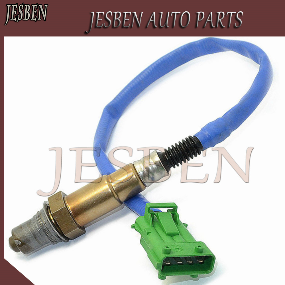 0258006028 Upper Lambda Probe O2 Oxygen Sensor Fit for Citroen BERLINGO C2 C3 C4 C8 JUMPY SAXO XSARA PICASSO 1.4 1.6 2.0 96 2015|Exhaust Gas Oxygen Sensor| |  - title=