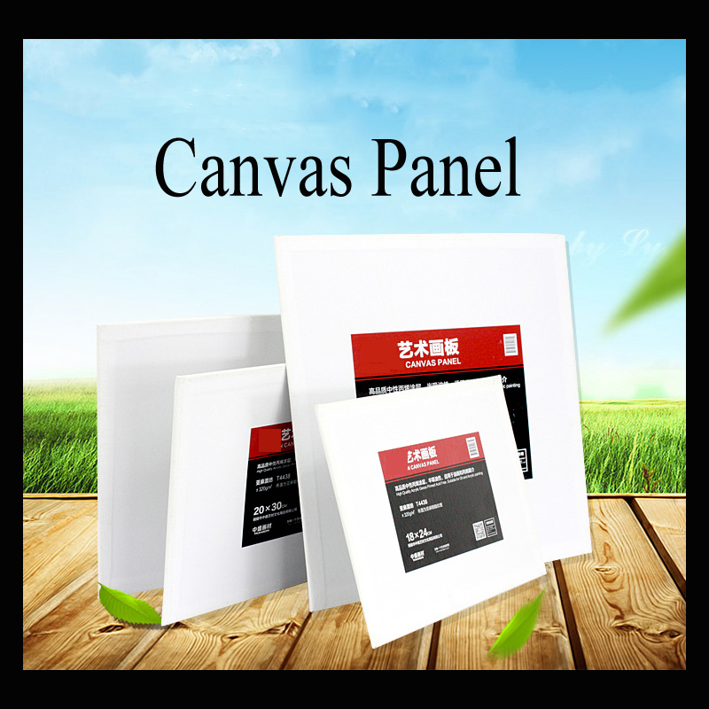320g blank canvas paper for painting wooden drawing board painting canvas panelchina mainland