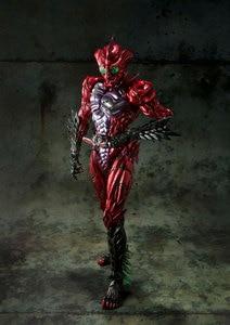 Image 4 - 100% Original BANDAI GEISTERN Tamashii Nationen SIC/SUPER IMAGINATIVE CHOGOKIN Action Figure Kamen Rider Alpha