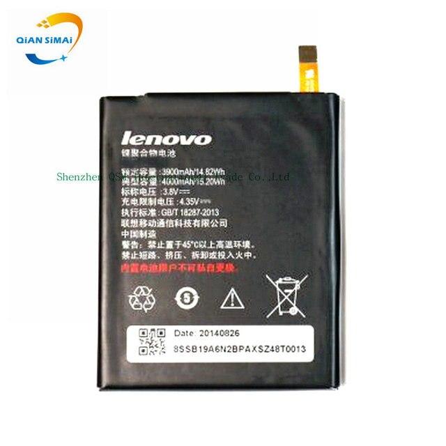 QiAN SiMAi New original High Quality 3.8V 3900mAh Battery for lenovo vibe p1ma40   phone in stock+ Track Code