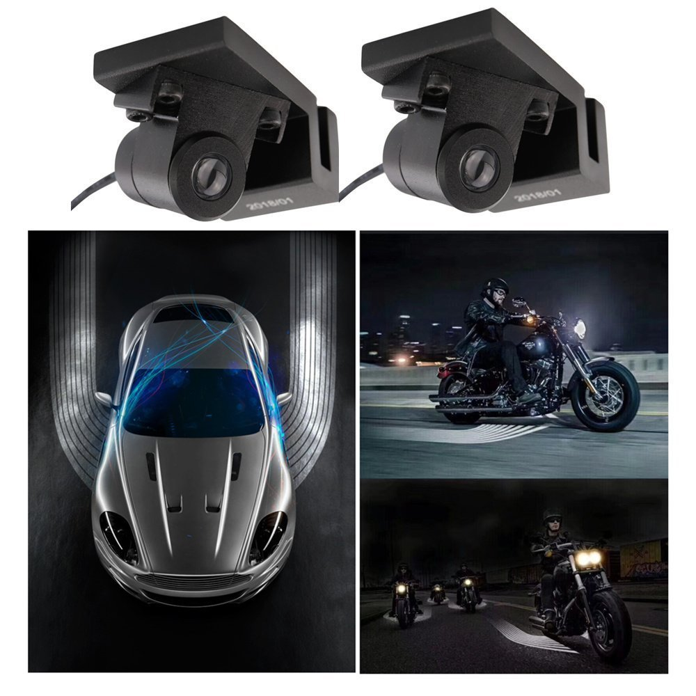 Welback LED Welcome Ghost Shadow Courtesy Angel Wing projector Light For Car Motorcycle 2-pc Set
