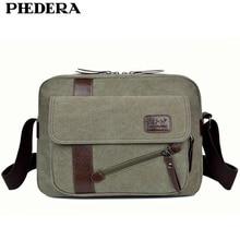 New Arrival Fashion Men's Travel Shoulder Bags Casual Men Messenger Bags High Quality Wash Canvas Retro Briefcase Men Bag цена