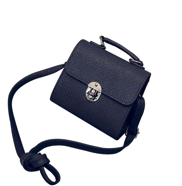 2017 Lady Handbags Leather Shoulder Bags Fashion Female Messenger Bag Tote Crossbody Cover Embossed Small Lock Bolas