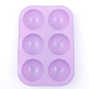 Image 2 - Новая силиконовая полусферическая форма для шоколадных кексов, форма для тортов DIY, декоративный инструмент для выпечки тортов