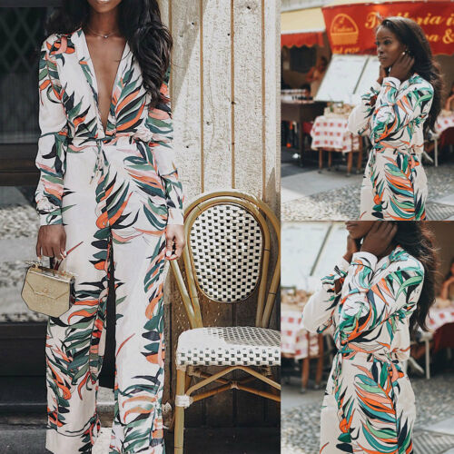 Women Playsuit Evening Party Cocktail Ladies   Jumpsuit   Romper Long Overall Pants