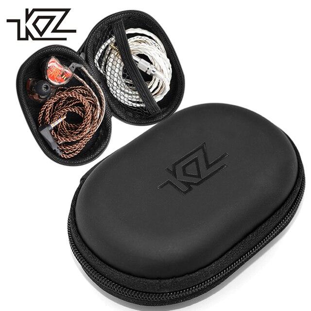 KZ イヤホンバッグ収納ボックスオリジナルイヤホンホルダーボックス USB ケーブルワイヤー保護ケース KZ ため ZS10 ES4 ZSR ATR ED2 ZST バッグ