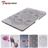TopArmor Pad 2 3 4 High Quality Heart Tribe 4 Credit Card Slots Folio Leather Case