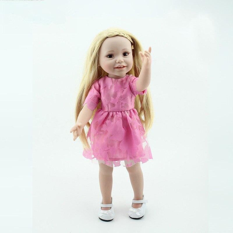 ФОТО 18 Inch American Girl Dolls Our Generation Dolls Reborn Babies Doll Toys Birthday Gift for American Dolls Juguetes Brinquedos