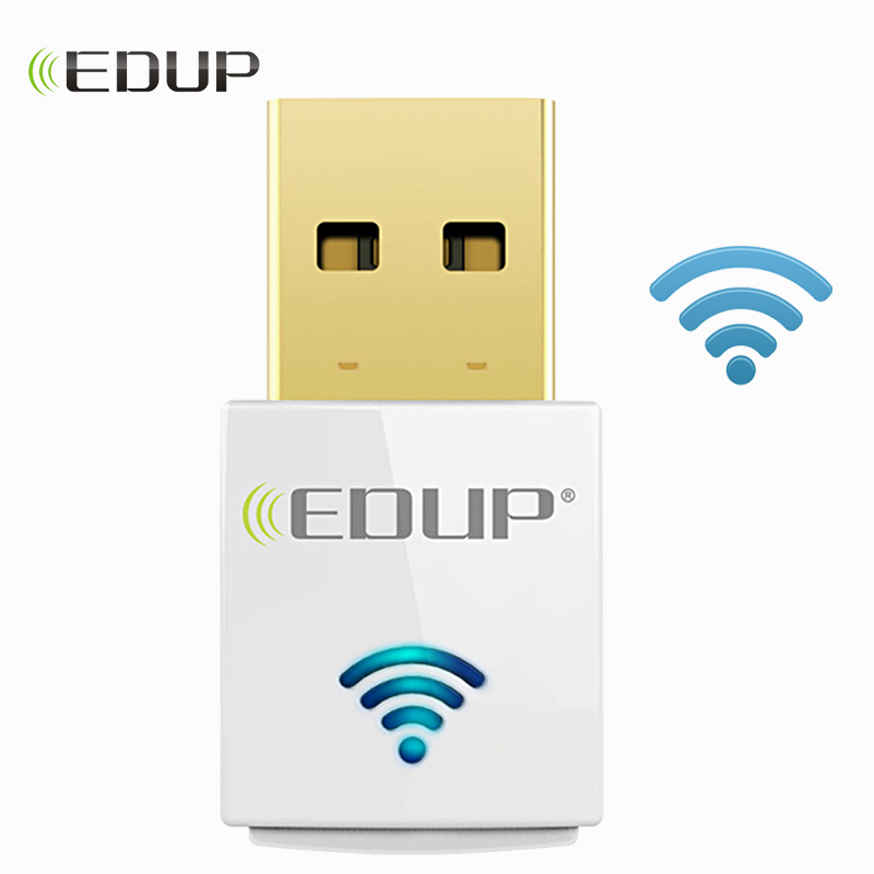 EDUP 600 Mbps Mini Wrieless WiFi Netzwerk Karte 5 ghz Wi-Fi Dongle 802.11ac Dual band Wi Fi Empfänger Unterstützung Windows mac
