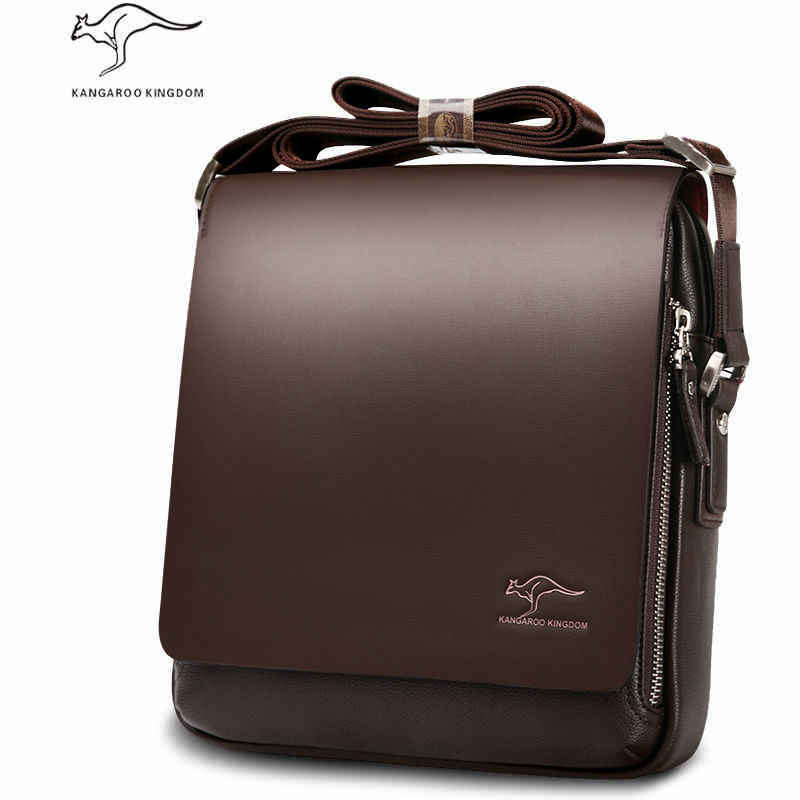 Hot Sale Brand Soft Leather Men Messenger Bags Big Promotion Kangaroo  Leather Shoulder Men Handbag Casual df43da19a46f1