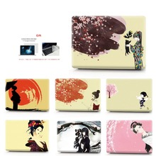 kimono Color printing  Laptop Case For MacBook Air Retina Pro 11 12 13 15 New with Touch Bar