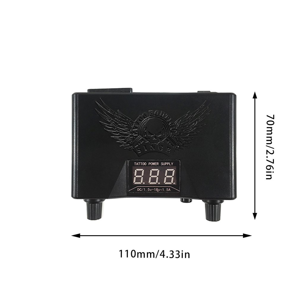 Купить с кэшбэком Tattoo Power Supply Voltage Transformer LED Digital Colorful Tattoo Power Unit for Tattoo Machine Supply