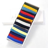 Hot Sale 2017 Men S Color Stripes Socks The Latest Design Popular Men S Socks 1