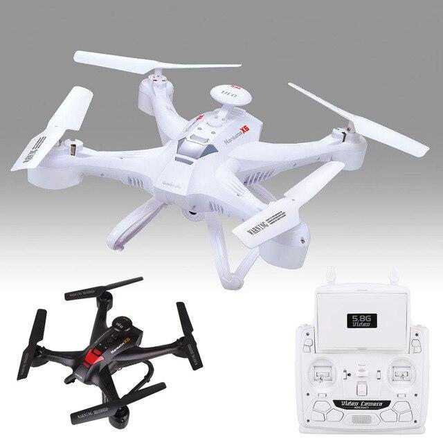 Professional rc font b drone b font XINLIN X163 RC Quadcopter 5 8G FPV 2MP HD