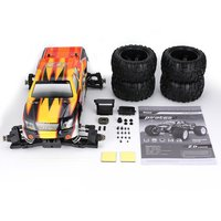 ZD Racing 9116 1/8 Scale 4WD Bigfoot RC Car Body Chassis Frame Off road Truck Vehicle Shell Cover Wheel DIY RC Monster Car Parts