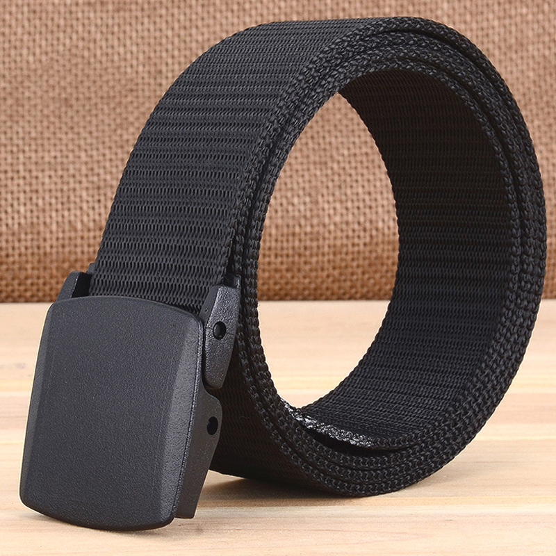 Men Canvas Belt  100 110 120 130 140cm Long Big Size New Nylon Material Mens Belt Military Outdoor Male Jeans Tactical Belts