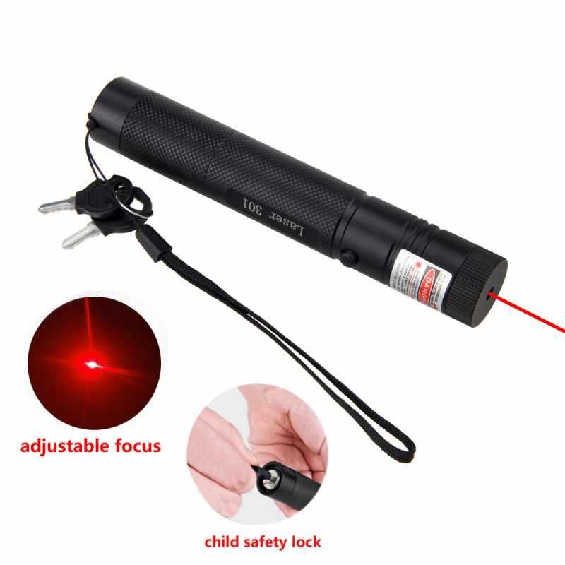 Охота лазерная указка Pen Light G301 фиолетовый/зеленый/красный Высокое Мощность 5 мВт 532nm 10 миля далеко видно сжигание луч сжечь Lazer + ключ безопасности
