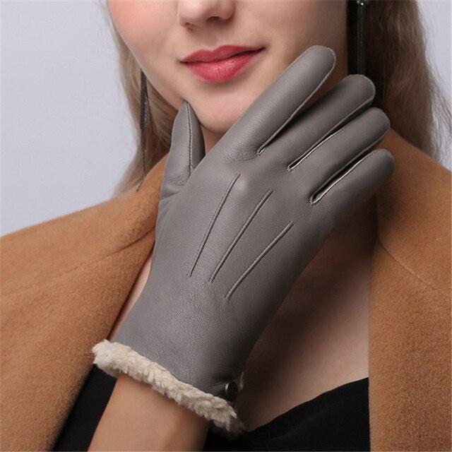 Genuine Leather Women...
