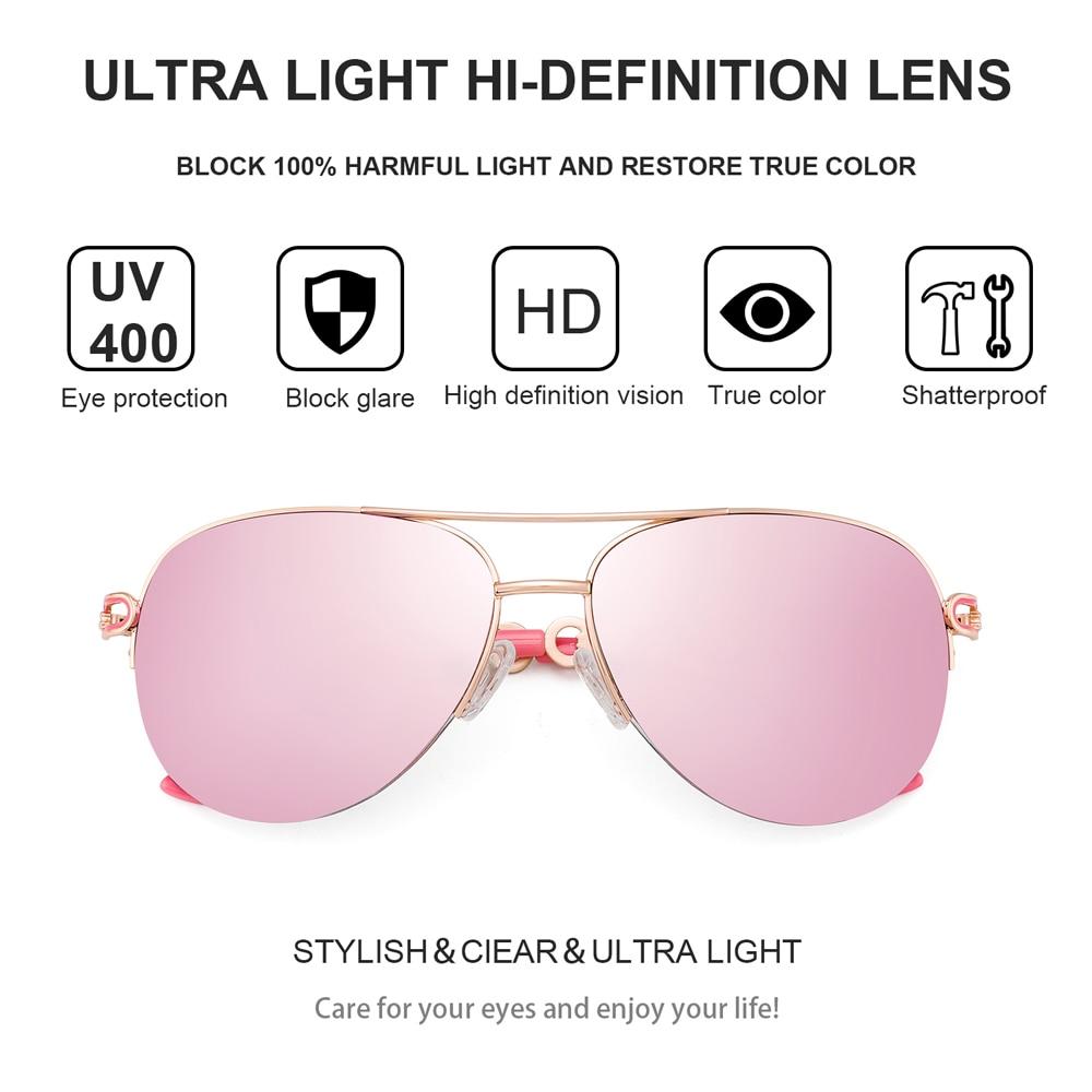 FENCHI sunglasses women uv 400 oculos female glasses sun glasses mirror Pilot Pink feminino zonnebril dames gafas de sol mujer 3