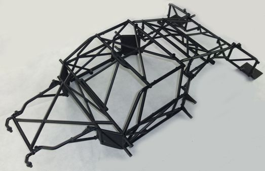Plastic Rolling Roll Cage Frame Kit Fit for 1/5 Losi 5ive T Rovan LT KingmotorX2