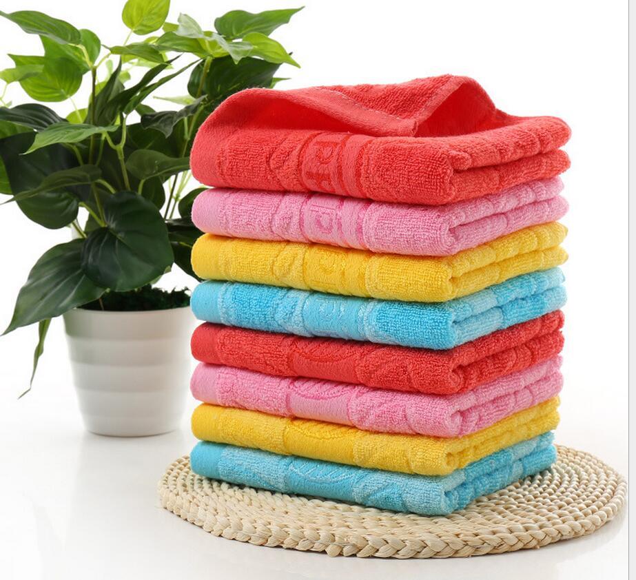 Free Shipping Plain Dyed Towel Set 100% Cotton Family Towel Sets Satin fiber cotton jacquard merchandise apple leaves
