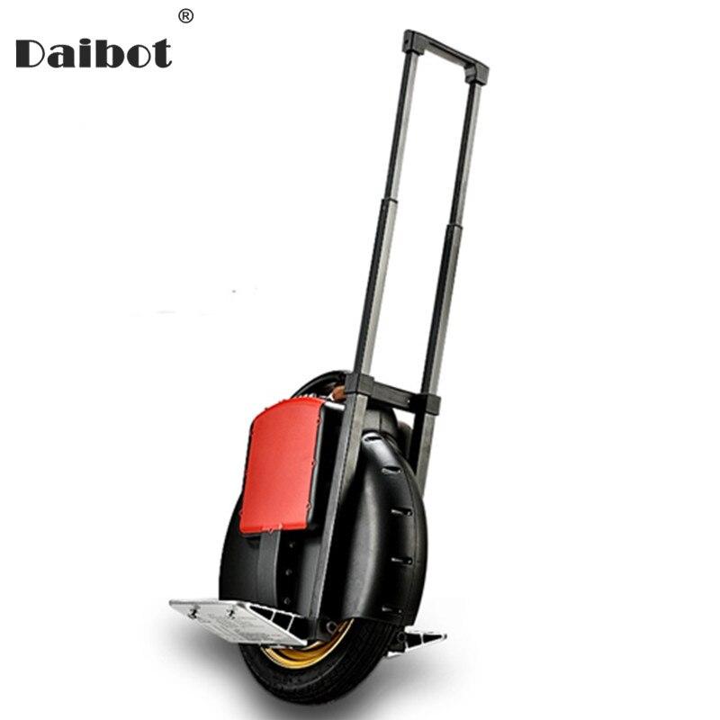 Daibot électrique monocycle Scooter une roue auto équilibrage Scooters avec roue d'entraînement 14 pouces 60 V Monowheel Scooter