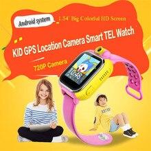 3G reloj inteligente bebé JM13 perseguidor de los gps para el cabrito Wifi Posición Tarjeta de la ayuda Sim con Cámara Giratoria Monitor Remoto pk Q90 Q80 Q50