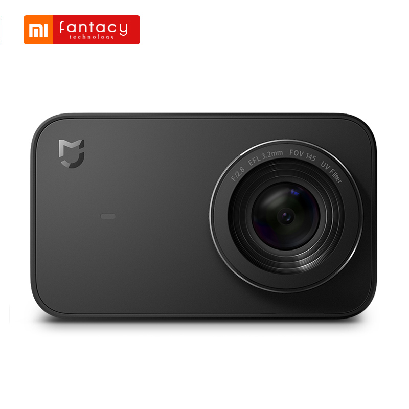 Xiaomi Mijia Mini Sport Action Camera Ambarella A12S75 4K WiFi cyfrowa kamera wideo nagrywania kontrola App 2.4 Cal dotykowy ekran w Kamera sportowa od Elektronika użytkowa na  Grupa 1