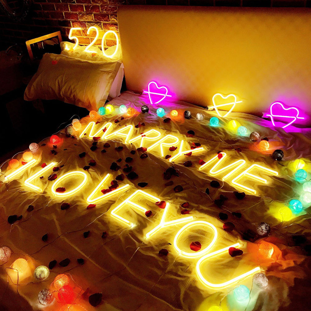 NEW INS Style Alphabet Letter Wall Lamp LED Bulb Night Light Warm ...