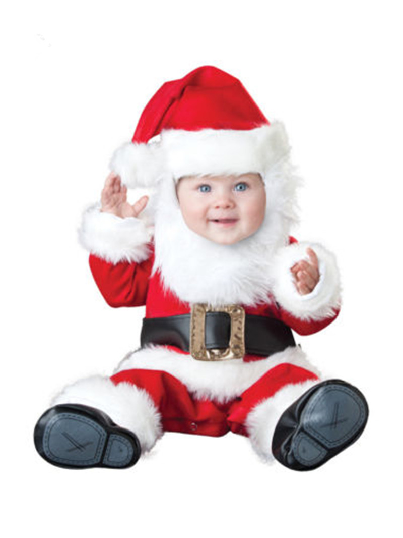 The Black Friday Christmas Xmas Halloween Costume Infant Baby Boys Santa Claus Anime Cosplay Newborn Toddlers