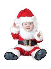 Черная Пятница Рождество Рождество Хэллоуин Костюм Младенческой Мальчиков Санта-Клауса Аниме Косплей Новорожденных Малышей Одежда