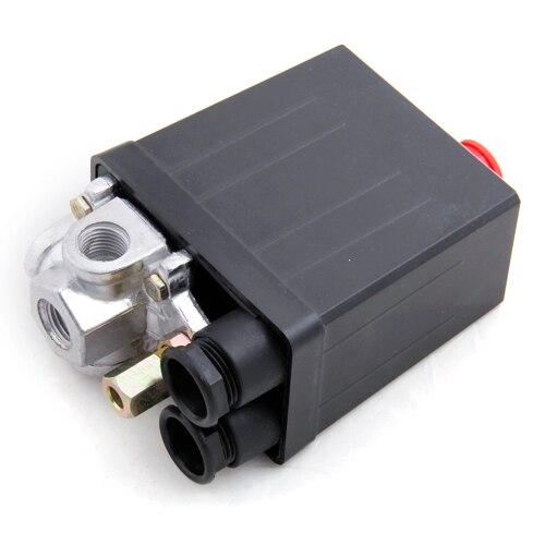 Válvula de Control de Interruptor de Presión Del Compresor de Aire, 90-120 PSI, 240V