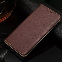 Genuine Leather Phone Bags Cases For Samsung Galaxy S6 G9200 S6 Edge S6Edge G9250 Flip Cover