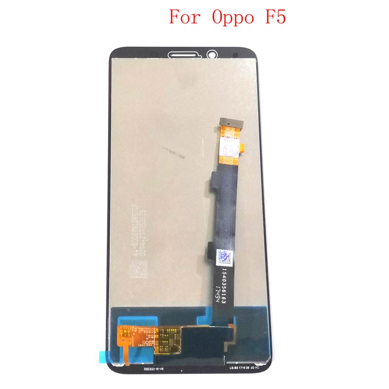For <font><b>OPPO</b></font> <font><b>F5</b></font> LCD <font><b>Display</b></font> +Digitizer touch Screen Frame Full Assembly image