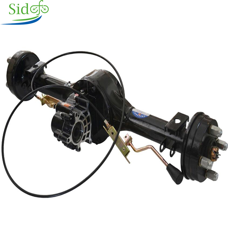 Brushless Differential Engine Electric <font><b>60V</b></font> <font><b>1000W</b></font> Tricycle Rear Axle Differential Axle <font><b>Motor</b></font> Kit Electric Bicycle Accessories image