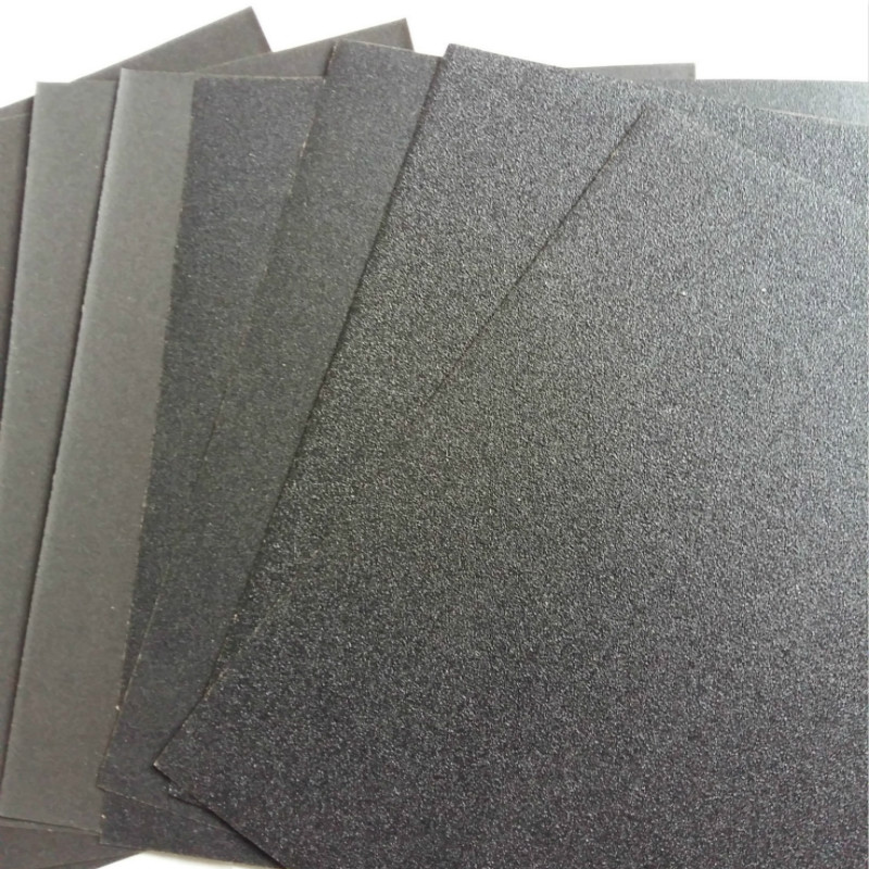 10pcs/lot Superfine Sandpaper Brushed Water Sanding Paper Polishing Grinding Tools Grit60 80 120 240 1000 2000 Abrasive Paper