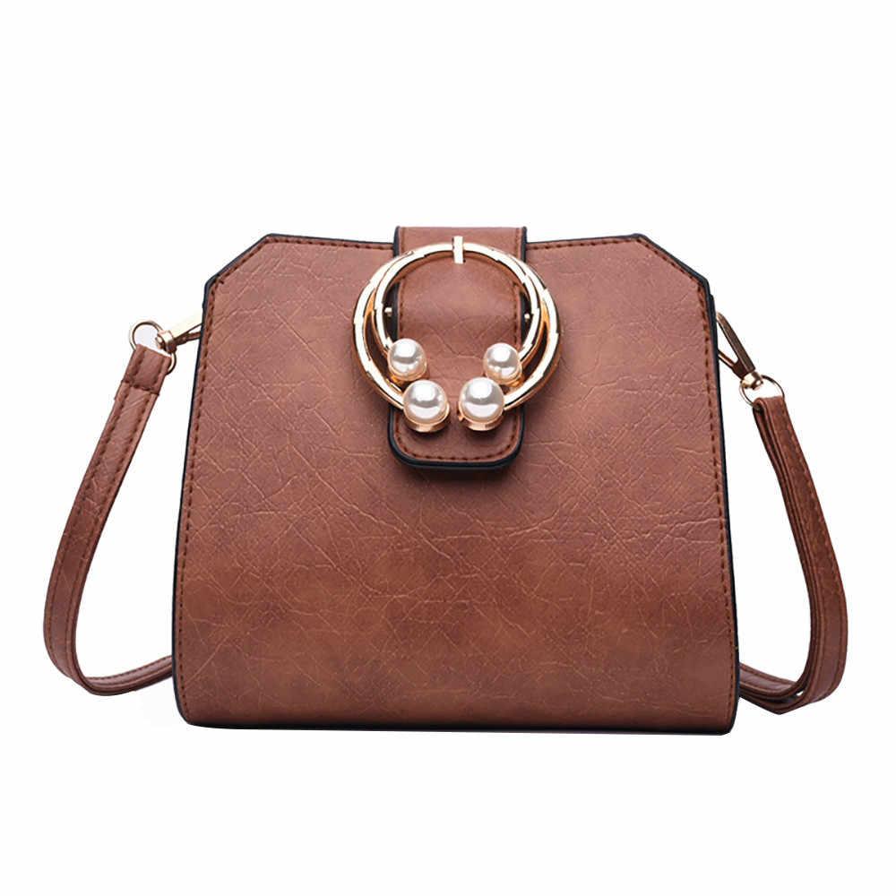 4c06046c29fe 2019 Women Vintage Designer Women Tide Ins Fashion Small Square Bag Leather Shoulder  Handbags bag set