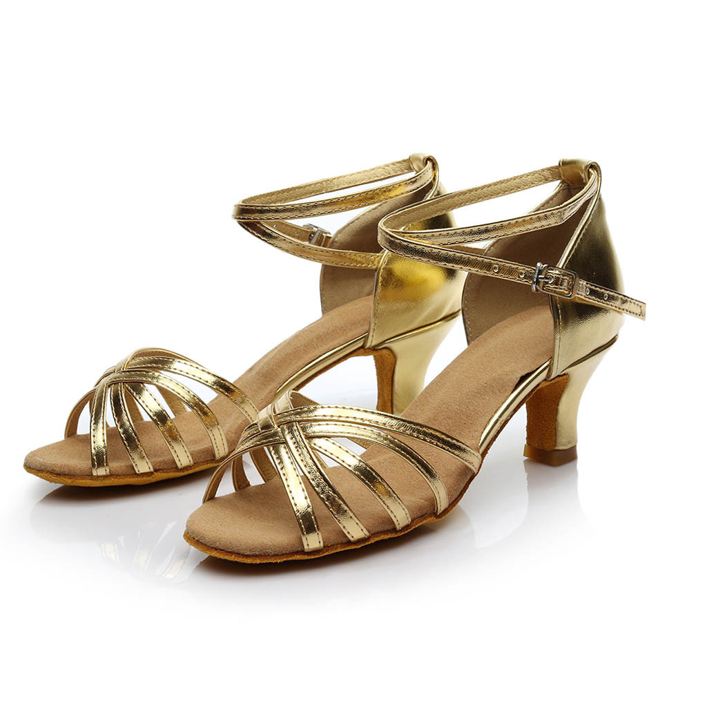 New Sexy High Heels Sandals Women Ladies Dancing Rumba Waltz Prom Ballroom Latin Salsa Dance Big Size Singles Shoes 10 Without Return Other