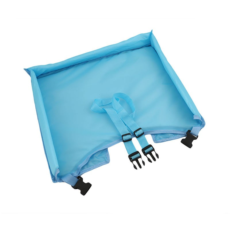 Waterproof table Car Seat Tray Storage Kids Toys Infant Stroller Holder for Children 5 Colors SA878793 4