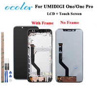 ocolor For UMI Umidigi One LCD Display and Touch Screen With Frame Assembly Parts With Tools For UMI Umidigi One Pro LCD