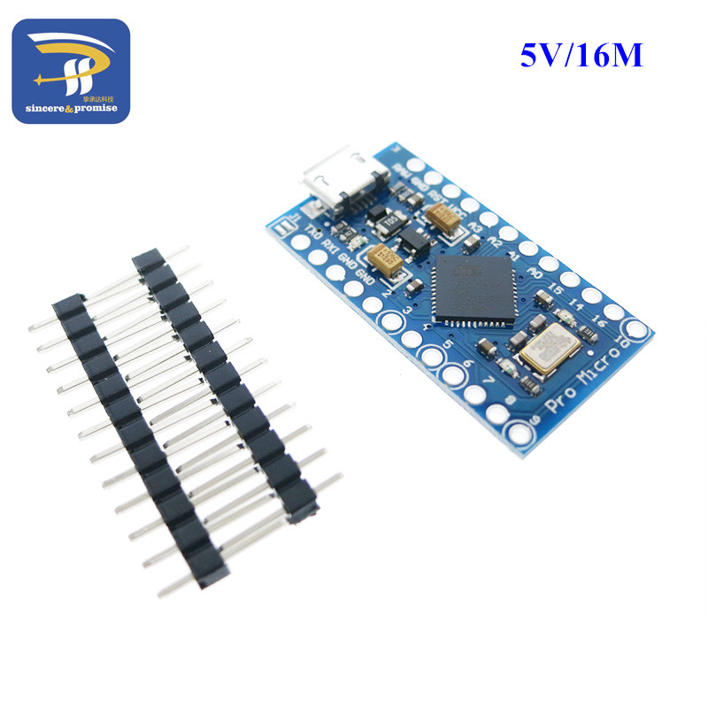 New pro micro for arduino atmega u v mhz module with