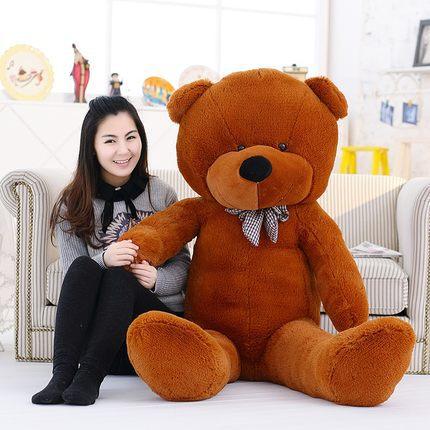 Kawaii-Genuine-100CM-Hug-Teddy-Bear-Urso-De-Pelucia-Plush-Stuffed-Animal-Dolls-Kids-Toys-Brinquedos (1)