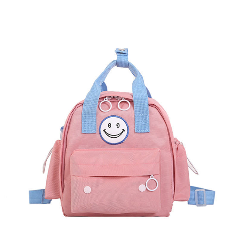 Cute Smiling Face Mini Backpacks For Girl 2019 Fashion Waterproof Nylon School Student Backpacks Children Travel Bags Tote BagsCute Smiling Face Mini Backpacks For Girl 2019 Fashion Waterproof Nylon School Student Backpacks Children Travel Bags Tote Bags