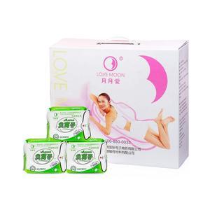 Image 2 - 19Pack Hygienisch Pad Sanitär Handtücher Liebe Mond Anion Sanitär Servietten Für Frauen Pads Dichtungen Menstruations Pad Lovemoon Hygiene